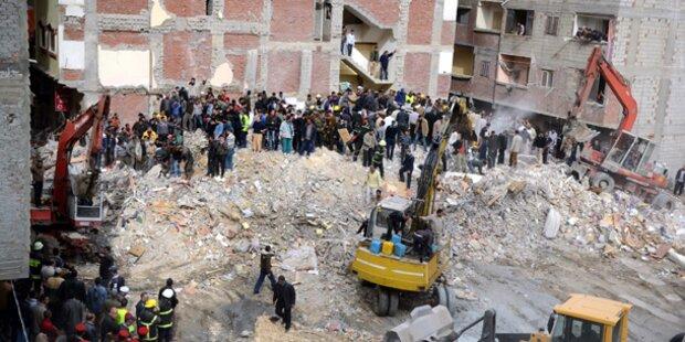 Mietshaus in Alexandria eingestürzt - 19 Tote