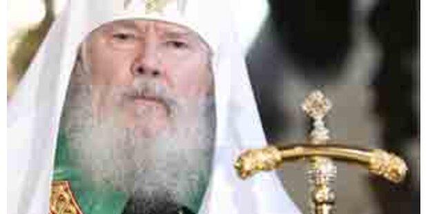 Russisch-orthodoxer Patriarch Alexi II. gestorben