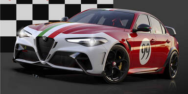 Neue Giulia GTA bekommt legendäre Lackierungen