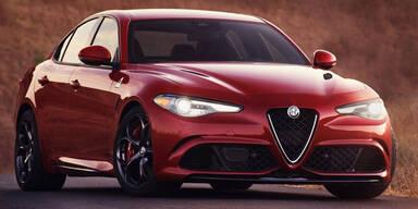 Alfa Giulia: Motoren stehen fest