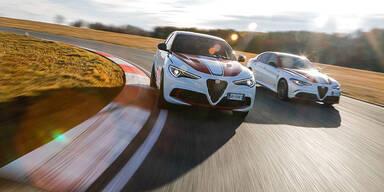 """Giulia und Stelvio starten als """"Racing""""-Modelle"""