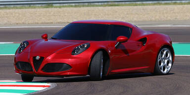 Jetzt startet der Alfa Romeo 4C
