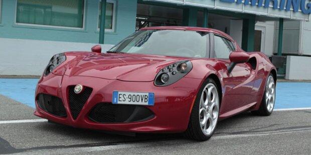 """Alfa Romeo 4C in Österreich """"gelandet"""""""