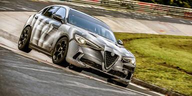 Alfa Stelvio ist schnellstes SUV der Welt