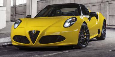 Weltpremiere des Alfa 4C Spider