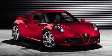 Weltpremiere des Alfa Romeo 4C