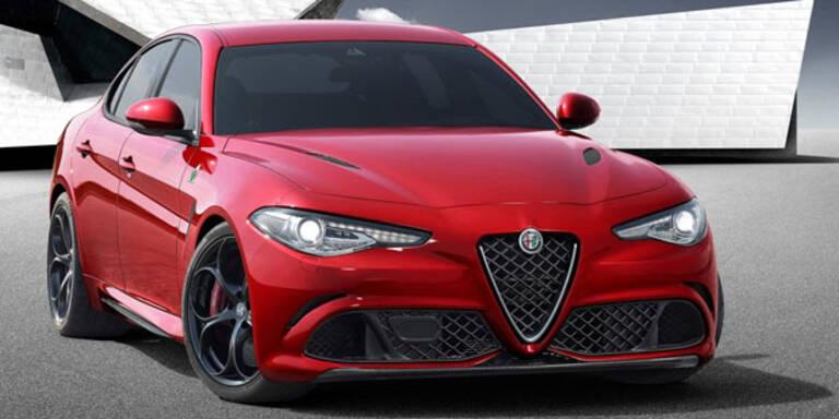 Das ist die neue Alfa Giulia