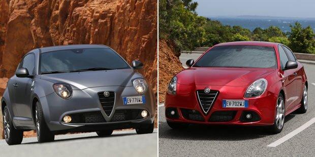 Alfa Giulietta & Mito QV im Test