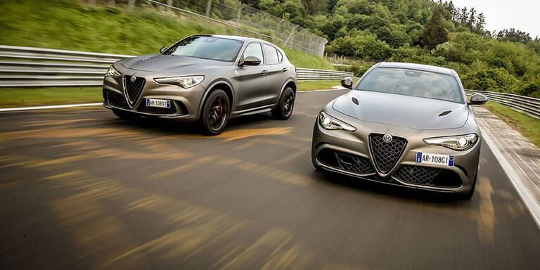 Top-Giulia und -Stelvio sind richtig teuer