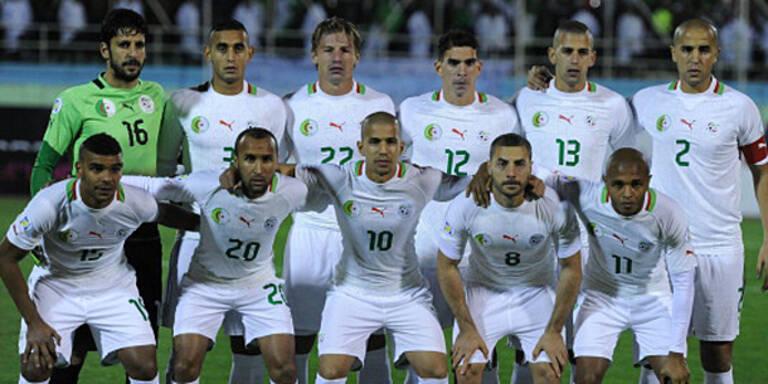 Algerien mit 22 Europa-Profis zur WM