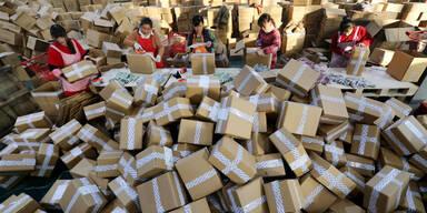 Online-Shopping: Billige China-Packerl werden teurer