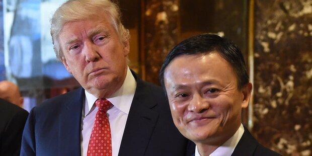 Alibaba-Chef macht Trump Mega-Versprechen