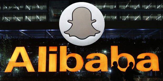 Alibaba steigt bei Snapchat ein
