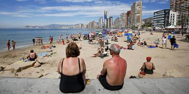 37 Grad: Hitzewelle in Spanien