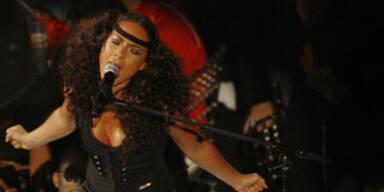 Alicia Keys bei den MTV Video-Awards in Las Vegas am 9. September