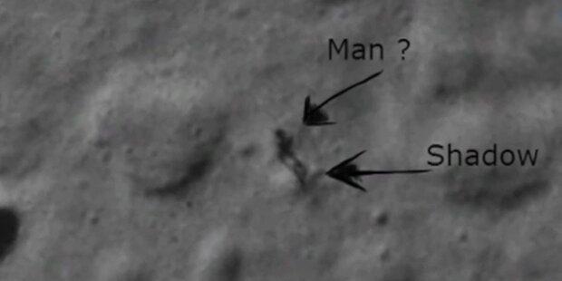 Google-Nutzer entdeckt Mann im Mond