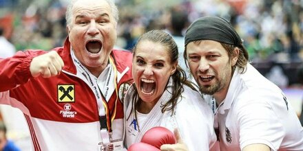Alisa Buchinger ist Karate-Weltmeisterin