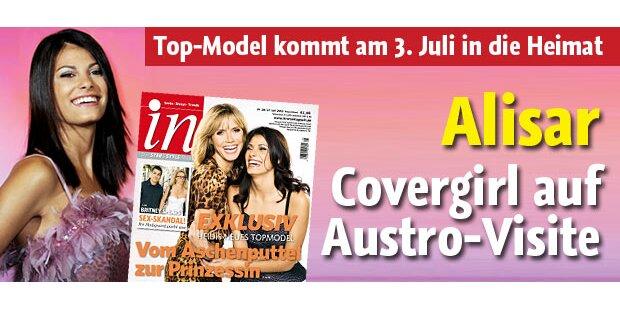 Covergirl Alisar: Austro-Visite fix