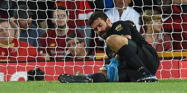 Liverpool-Schock: Goalie Alisson fällt aus
