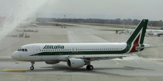 Alitalia-Maschine musste notlanden