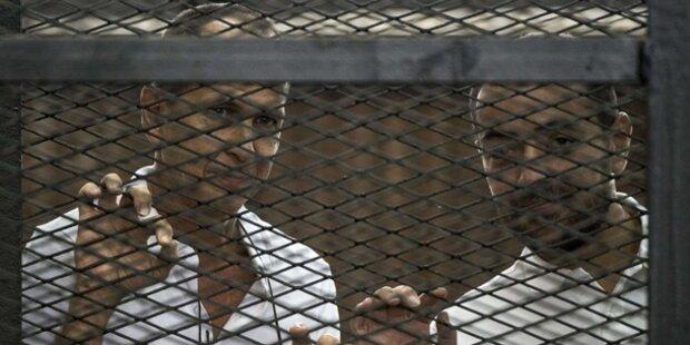 Haft für drei Al-Jazeera-Reporter
