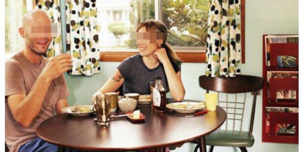 Alko-Blutbad beim Frühstück