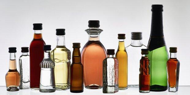 Warnhinweise auf Alkohol