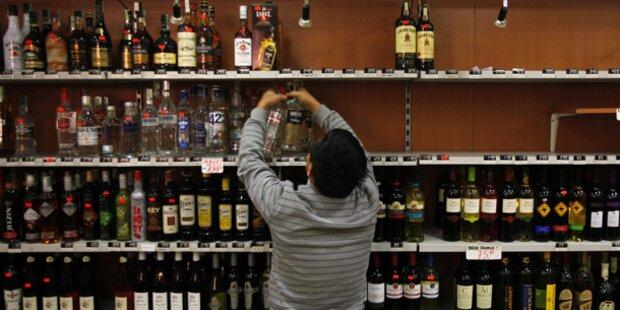 Warnung vor Giftalkohol in Österreich