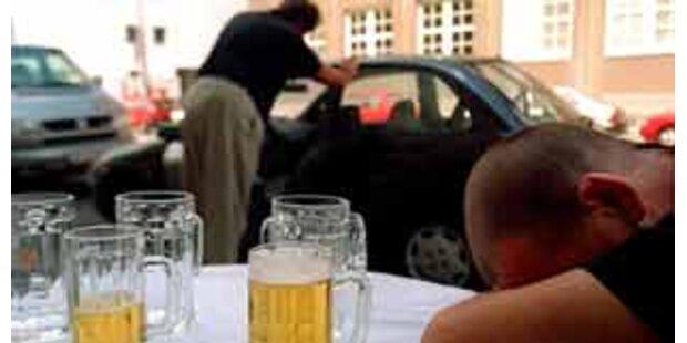 Alkolenker verursachte Serie von Verkehrsunfällen