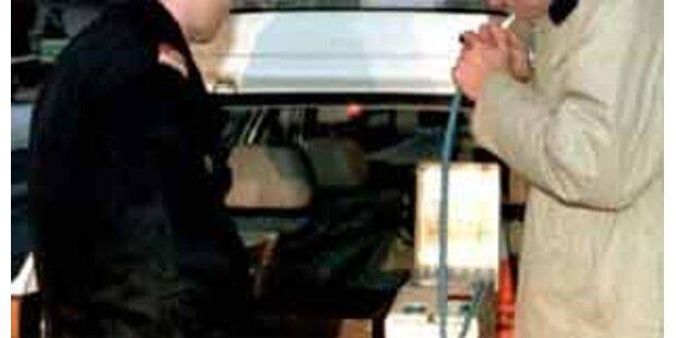 Autofahrer war zu betrunken für Alkoholtest