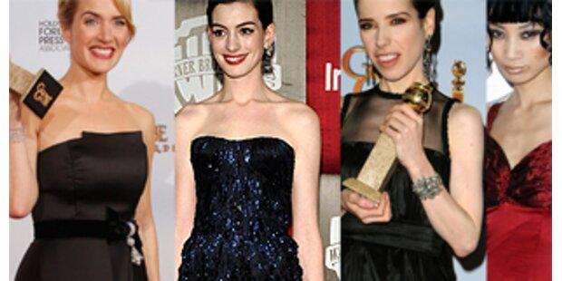 Golden Globes-Gold und Schwarz, Glamour und Glitter