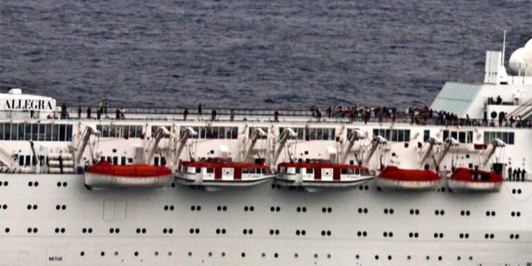 """""""Costa Allegra"""": Angst auf dem Albtraumschiff"""