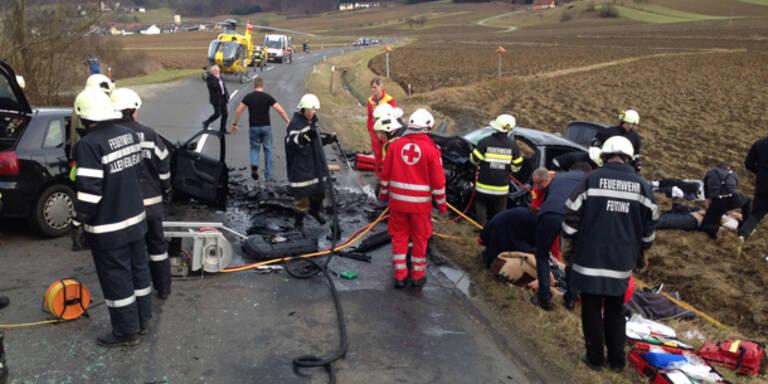 Steiermark: Zwei Tote bei Horror-Crash