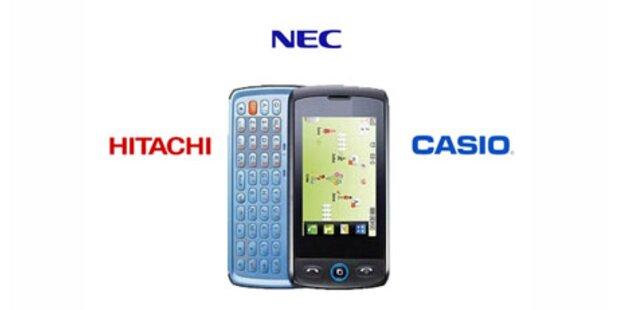 Dreier Allianz gegen Nokia und Sharp