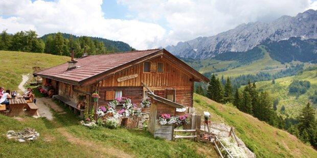 Tiroler Almen sind in Gefahr