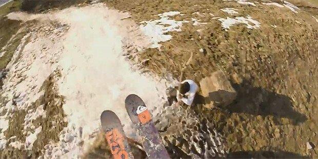 Freestyler dreht Ski-Video des Jahres