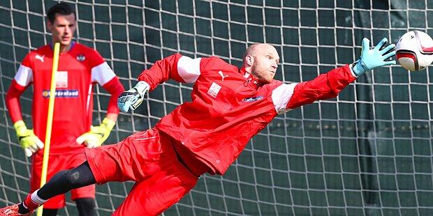 Almer ab Sommer Austria-Goalie