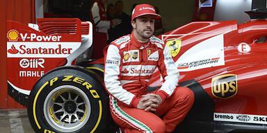 Fernando Alonso rast in Barcelona zum Sieg
