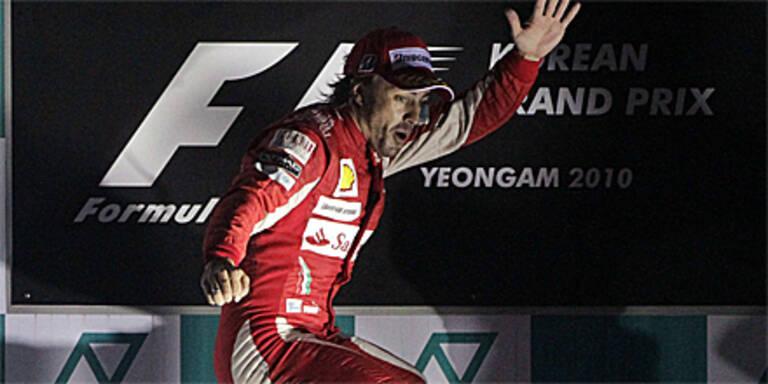 Alonso ist der Gagenkönig