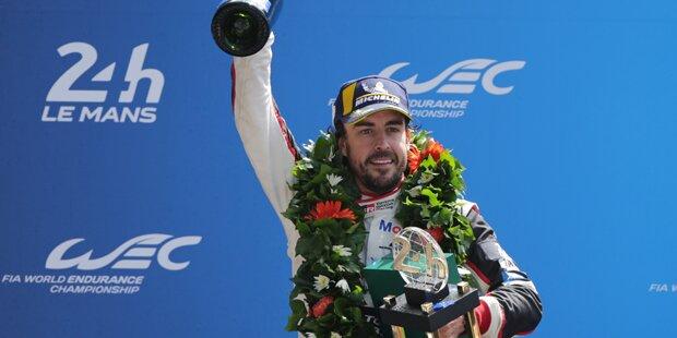 Nach Sieg: Alonso lässt aufhorchen