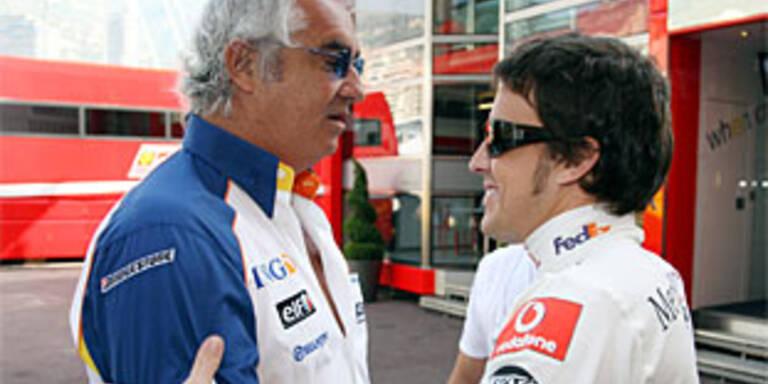 """Alonso """"zu 60 Prozent"""" wieder bei Renault"""
