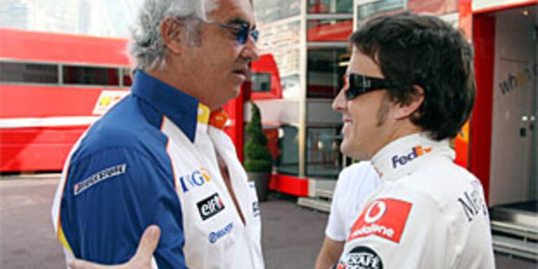 Alonso lässt Renault zappeln
