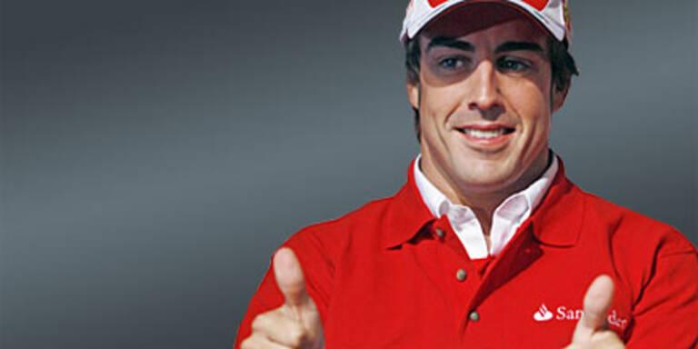 Alonsos Daumen auf 10 Mio versichert