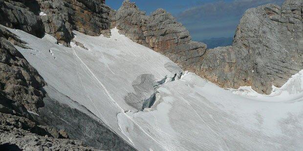 Bergführer rettete Alpinist in Gletscherspalte das Leben