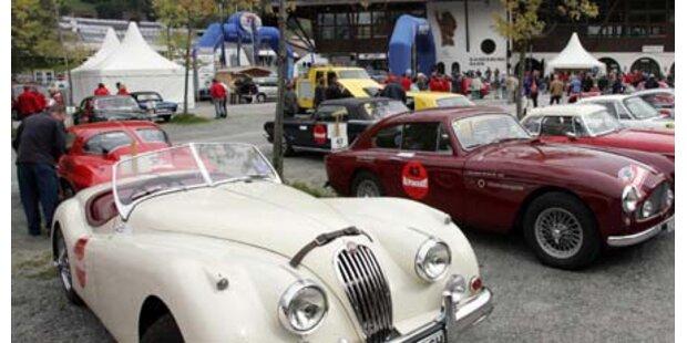 Start frei für die Alpenrallye