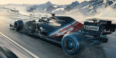 Neues Formel-1-Team blamiert sich bei Präsentation