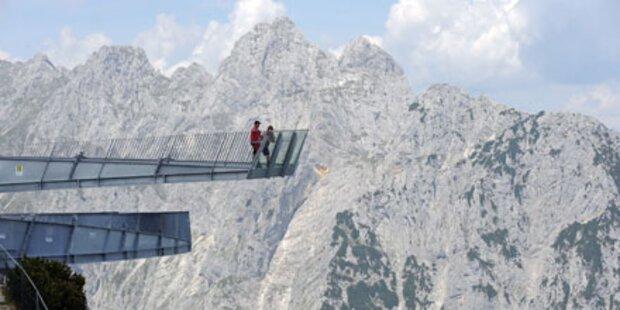 Spektakulärer Ausblick auf die Zugspitze
