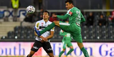 3:1 - WSG Tirol weiter in Führung gegen Altach