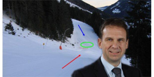 War Althaus ein Ski-Geisterfahrer?