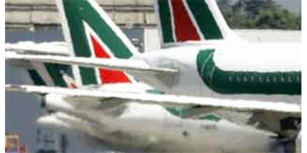 Alitalia erhält 300 Mio. Euro Überbrückungskredit